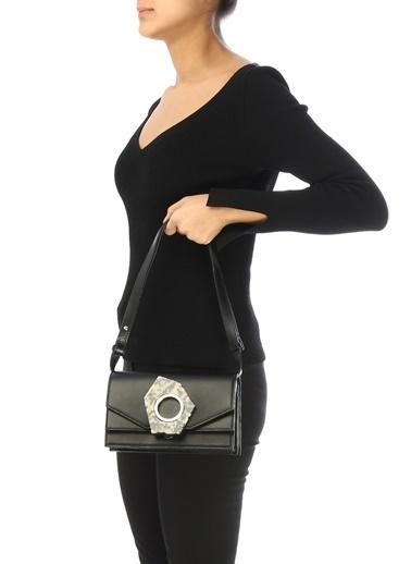 Ganni Messenger / Askılı Çanta Siyah